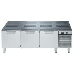 Modulární varná zařízení 700XP - Chlazená podestavba, 3x zásuvka, š. 1600mm <br> 371257