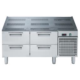 Modulární varná zařízení 700XP - Chlazená podestavba, 2x2 zásuvky, š. 1200mm<br> 371260