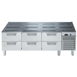 Modulární varná zařízení 900XP - Chlazená podestavba, 3x2 zásuvky, š. 1600mm<br> 391275