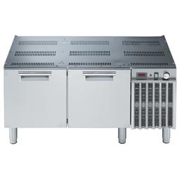 Modulární varná zařízení 900XP - Chlazená podestavba, 2x zásuvka, š. 1200mm <br>391308