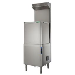 Průchozí myčky nádobí Green&Clean, automatický zdvih, ESD, ZERO LIME & CLEAR BLUE Filtrační systém <br> 504250