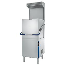 Průchozí myčky nádobí Green&Clean, manuální zdvih, ESD, ZERO LIME & CLEAR BLUE Filtrační systém, dávkovače <br> 504254