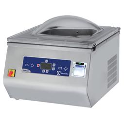 Vakuovací stroje Stolní model s tiskárnou HACCP -20 m³/h, vstup pro inertní plyn <br> 600049